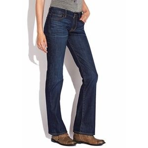 Lucky Brand Sweet N Low Boot Cut Jeans Size 14/32